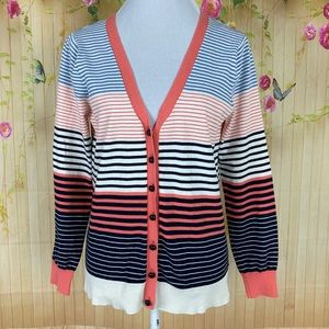 Milly of New York Striped Sweater Size L